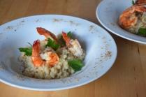 Garnelen mit Blumenkohl-Reis (5)