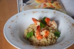 Garnelen mit Blumenkohl-Reis (6)