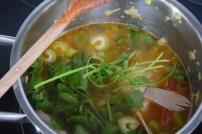Gebratener Zander auf Paprikakraut und Welschrieslingschaum (3)