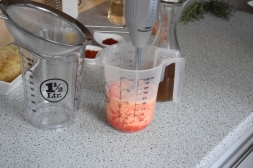 Gebratener Zander auf Paprikakraut und Welschrieslingschaum (5)