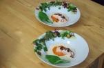 Gedämpfter Lachs mit Wildkräutern (6)