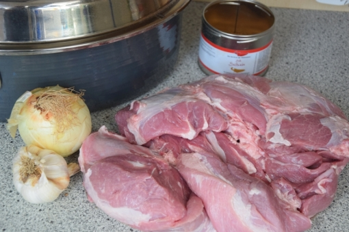 Gezupftes Schwein (1)
