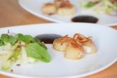 Jakobsmuscheln mit Bierrettichsalat und Chilikonfitüre (10)