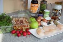 Jakobsmuscheln mit Bierrettichsalat und Chilikonfitüre (2)