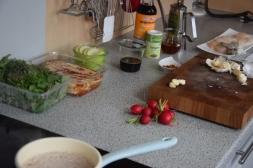 Jakobsmuscheln mit Bierrettichsalat und Chilikonfitüre (4)