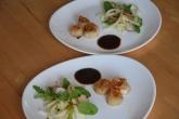 Jakobsmuscheln mit Bierrettichsalat und Chilikonfitüre (7)