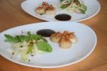 Jakobsmuscheln mit Bierrettichsalat und Chilikonfitüre (8)