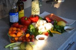Lachs, Guacamole, Tomaten-Salsa (2)