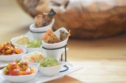 Lachs, Guacamole, Tomaten-Salsa (5)