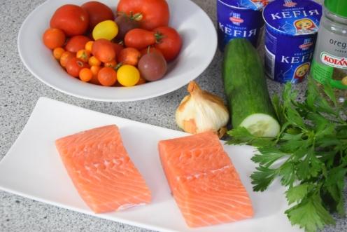 Lachs mit Tomaten-Tsatsiki (1)