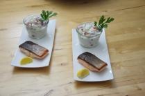 Lachs mit Tomaten-Tsatsiki (3)