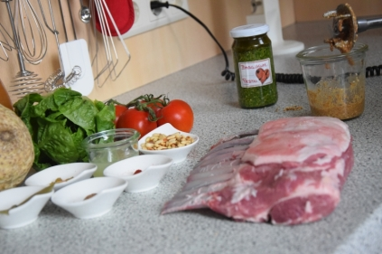 Lammkotelett mit Pesto und Selleriepüree (1)