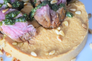 Lammkotelett mit Pesto und Selleriepüree (11)