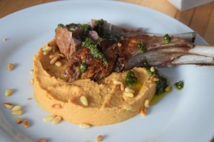 Lammkotelett mit Pesto und Selleriepüree (9)