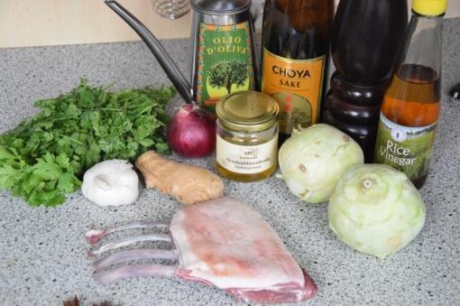 Lammkoteletts mit Auberginenpüree (1)