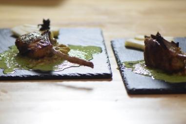 Lammkoteletts mit Auberginenpüree (11)