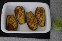 Lammkoteletts mit Auberginenpüree (4)