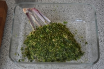 Lammkoteletts mit Auberginenpüree (5)