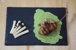 Lammkoteletts mit Auberginenpüree (7)