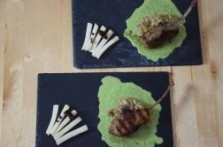 Lammkoteletts mit Auberginenpüree (8)