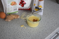 Paniertes Hähnchen mit Miso-Mayonnaise (2)