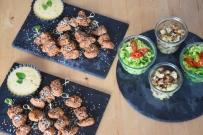 Paniertes Hähnchen mit Miso-Mayonnaise (5)