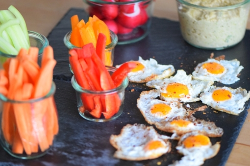 Sesam-Nuss-Dip mit Gemüse (6)