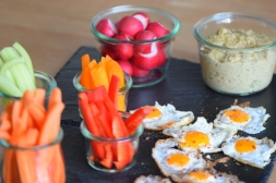 Sesam-Nuss-Dip mit Gemüse (7)