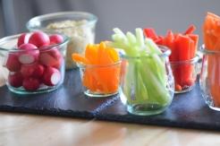 Sesam-Nuss-Dip mit Gemüse (8)