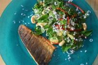 Wolfsbarsch mit Kokos-Salat (3)