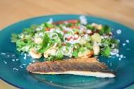 Wolfsbarsch mit Kokos-Salat (4)