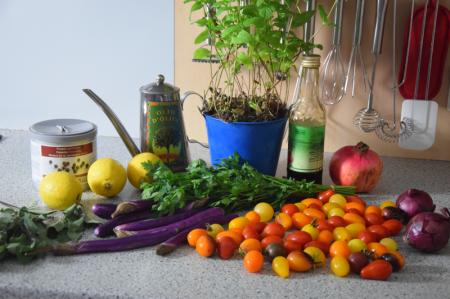 zitronen-tomatensalat-mit-gebackenen-melanzanischlangen-1