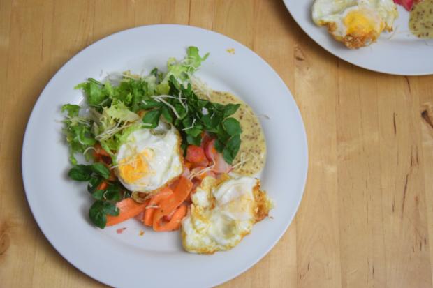 Frittierter Eiersalat (4)