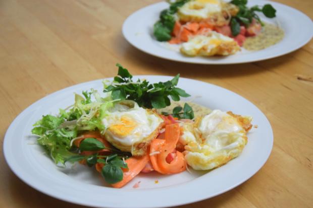 Frittierter Eiersalat (5)