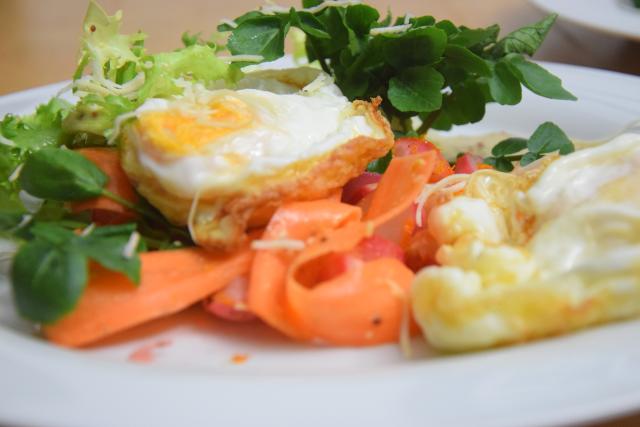 Frittierter Eiersalat (7)