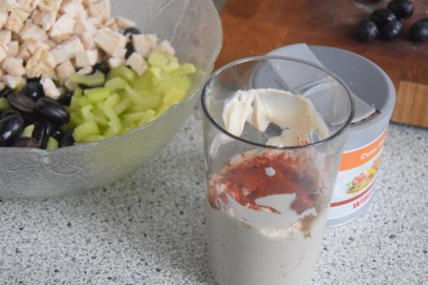 Geflügelsalat mit Curry-Mayonnaise (3)