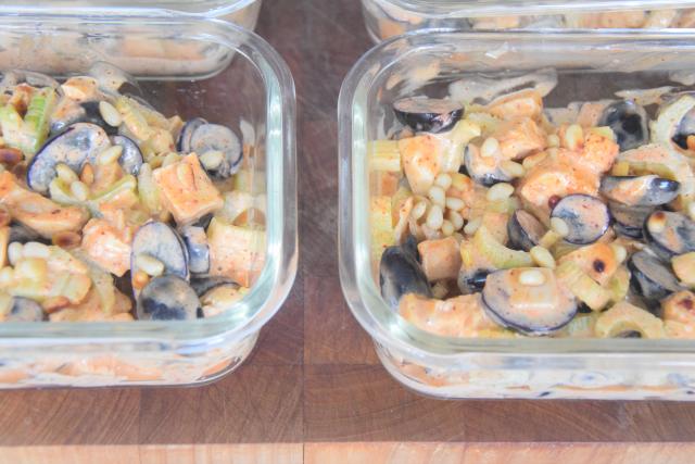 Geflügelsalat mit Curry-Mayonnaise (4)