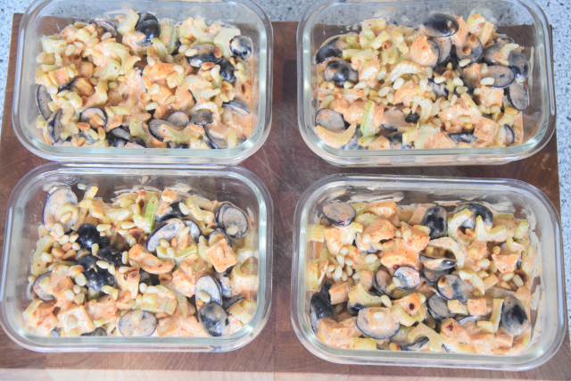 Geflügelsalat mit Curry-Mayonnaise (6)