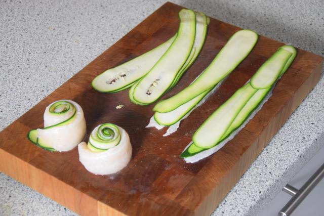 Gerollte Zucchini-Seezunge (2)