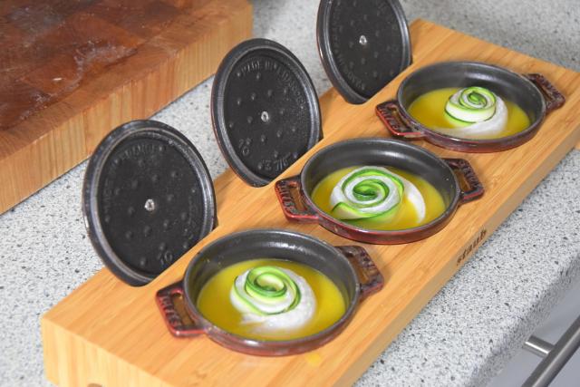 Gerollte Zucchini-Seezunge (5)