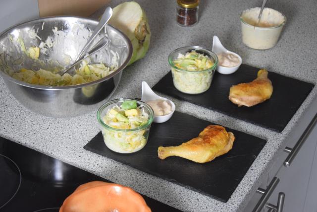 Kraut & Huhn, ein bisschen Mayonnaise (2)