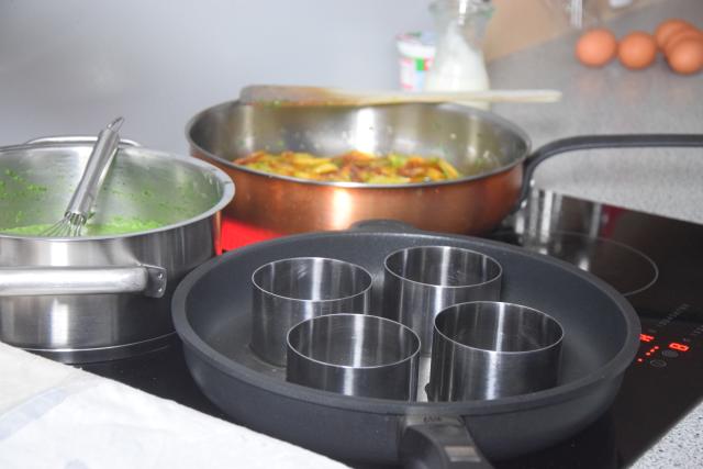 Spinat mit Spiegelei und Kartoffeln nach Art von Sarlat (4)