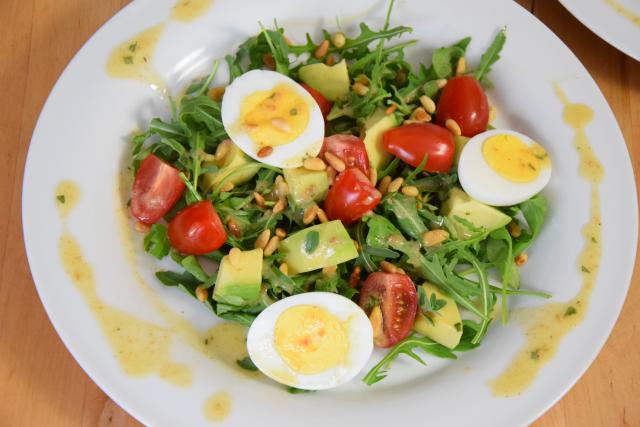 Avocado-Tomatensalat (2)