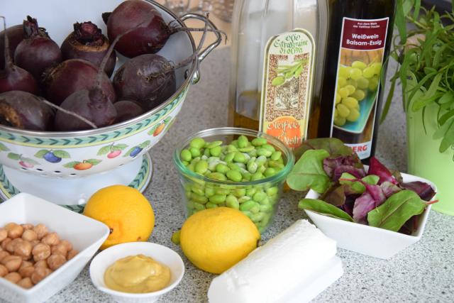 Rote Bete-Salat mit Rote-Bete-Margarita (1)