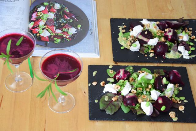Rote Bete-Salat mit Rote-Bete-Margarita (4)