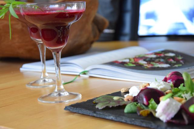 Rote Bete-Salat mit Rote-Bete-Margarita (6)