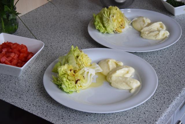 Blutwurst mit Kartoffelpüree (3)