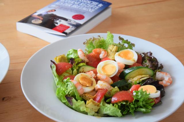 Bretonischer Garnelensalat mit Ei (2)