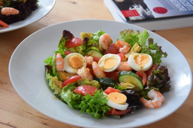 Bretonischer Garnelensalat mit Ei (3)