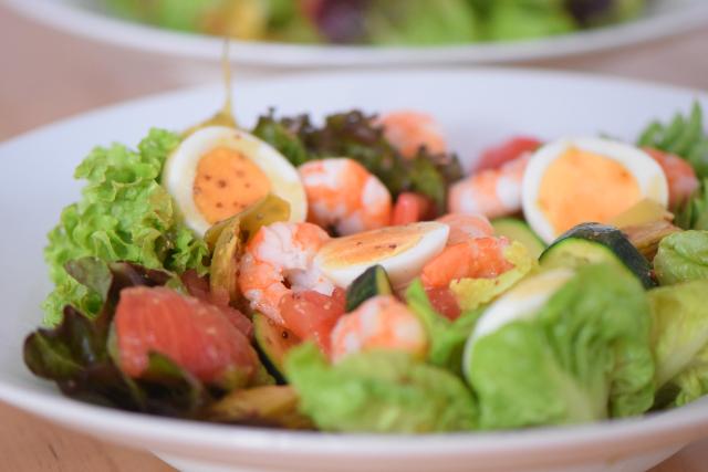 Bretonischer Garnelensalat mit Ei (4)